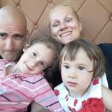 Famiglia a Kalininsky District, Sankt-Peterburg, Russia