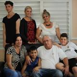 Familia anfitriona en Yaguajay, Yaguajay, Sancti Spiritus, Cuba, Cuba