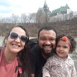 Familia anfitriona en Barrhevan , Ottawa, Canada