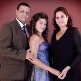 Familia anfitriona en Puerto Casilda, Trinidad, Cuba