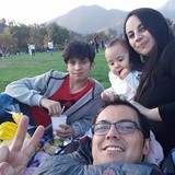 Famiglia a San Borja Neighborhood, Santiago, Chile