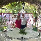 Familia anfitriona en centro, Santa Clara, Cuba