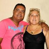 Famiglia a La Purisima, Trinidad, Cuba