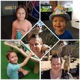 Famiglia a Hawkesbury, Mulgrave, Australia