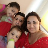 Famiglia a MAlecon, La Habana, Cuba