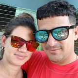 Familia anfitriona en Gironcito, Playa Girón , Cuba