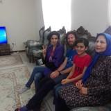 Gastfamilie in Airport, Shiraz, Iran