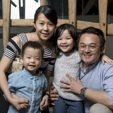Família anfitriã em Taman Lt Jaya, Kota Kinabalu, Malaysia