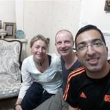 Host Family in District 11, Tehran, Iran