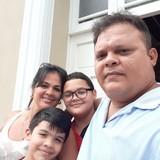 Famiglia a Camagüey , Lugareño, Cuba