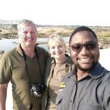 Familia anfitriona en mkhosana township, victoria falls, Zimbabwe