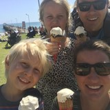 Famiglia a Ringwood East, Ringwood East, Australia