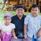 Famille d'accueil à udhiana resort ubud, ubud, bali, Indonesia