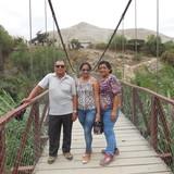 Família anfitriã em un barrio con poco vecindario, punchana, Peru