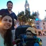 Familia anfitriona en Benicalap, València, Spain