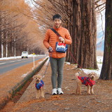 Famiglia a Lake BIWA, Takashima, Japan