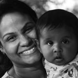 Familia anfitriona en AIIMS Hopital, bhubaneswar, India