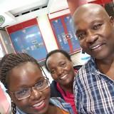 Famiglia a Nairobi West, Nairobi, Kenya