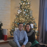 Familia anfitriona en Scarborough, Toronto, Canada
