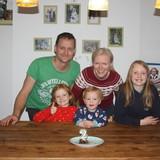 Familia anfitriona en Douglas, Cork, Ireland