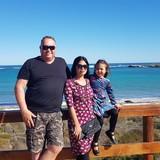 Família anfitriã em Ferndale, Perth, Australia