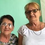 Familia anfitriona en Habana Vieja, La Habana, Cuba