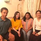 Família anfitriã em Musashikosugi , Kawasaki, Japan
