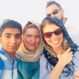 Gastfamilie in Qeshm,GuranVillage, Guran, Iran