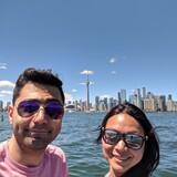 Família anfitriã em Scarborough, Toronto, Canada