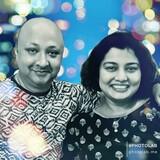 Famiglia a Bandra West, Mumbai, India