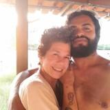 Família anfitriã em Vila de algodoal,  Algodoal Maracana, Brazil