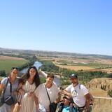 Familia anfitriona en San Claudio, Oviedo, Spain