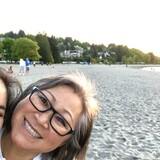 Famiglia a Kitsilano (Kits), Vancouver, Canada